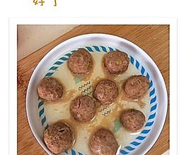 一岁宝宝食谱 牛肉丸的做法