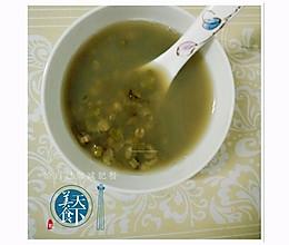 清暑祛湿, 绿豆荷叶粥的做法