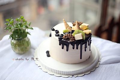 淋面奶油蛋糕#柏翠辅食节—烘焙零食#