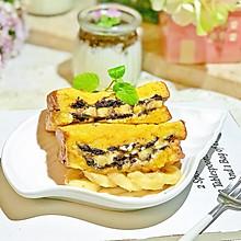#花10分钟,做一道菜!#奥利奥酸奶香蕉吐司
