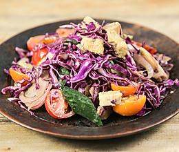 摇滚鸡胸沙拉|美食台的做法