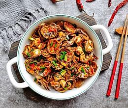 #硬核菜谱制作人#干锅香辣小螃蟹的做法