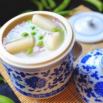 豌豆山药浓汤