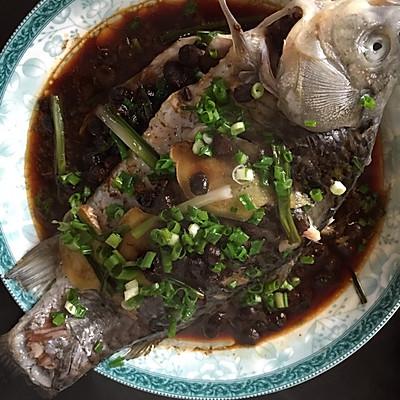 简单豆豉蒸鱼