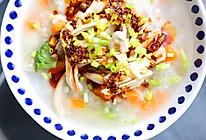 鸡肉培根蔬菜粥的做法