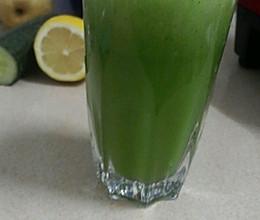 黄瓜柠檬汁的做法