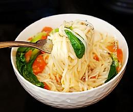#下饭红烧菜#热汤面荷包蛋的做法