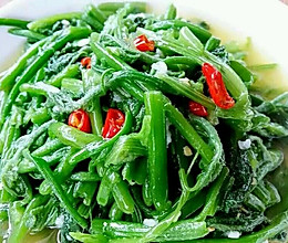 李孃孃爱厨房一一清炒南瓜藤(家常味)的做法