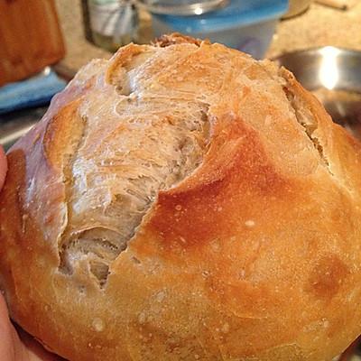 免揉基础面包,简单快手满屋小麦香