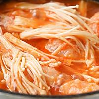 日食记 | 番茄酸汤虾滑的做法图解7