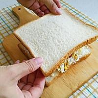 炸火腿三明治#丘比三明治#的做法图解11