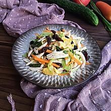 #花10分钟,做一道菜!#凉拌鸡丝