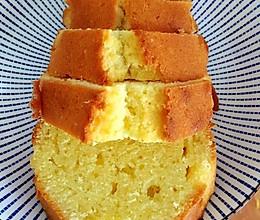 享受自己动手的过程—黄油蛋糕的做法