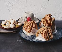 栗子蛋糕(蛋白霜饼版)的做法