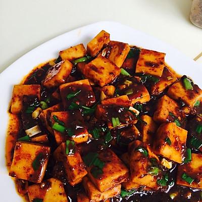 麻辣千叶豆腐