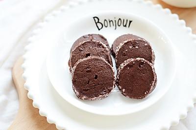 真巧克力钻石饼干