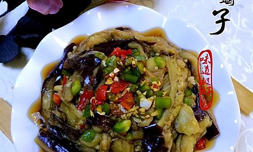 #夏日素食#—双椒拌茄子的做法