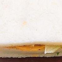 #一人一道拿手菜# 培根三明治的做法图解9