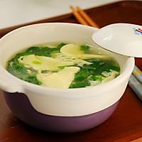 菠菜鸡蛋汤的做法图解10