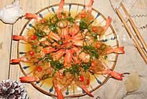 蒜蓉蒸虾的做法