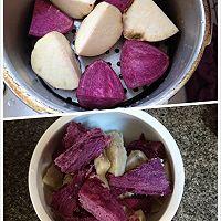 椰汁双薯西米露的做法图解2
