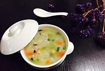 什锦海鲜粥的做法