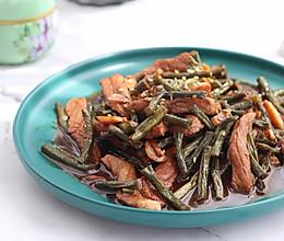 #尽享安心亲子食刻# 酱焖线豆的做法