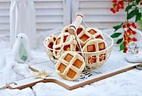 #快手又营养,我家的冬日必备菜品#全麦果仁红糖华夫饼的做法