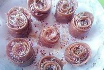 玫瑰小花卷的做法