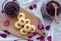 玫瑰酱&玫瑰饼【初味日记】的做法