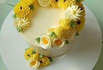 裱花蛋糕#约会MOF#的做法
