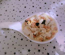 海鲜豆腐烧的做法