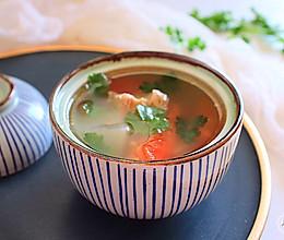 #春季食材大比拼~清炖番茄白萝卜牛肉汤的做法