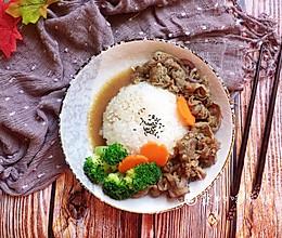 日式肥牛盖浇饭的做法