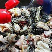 春节筵席上的下酒菜干锅牛蛙的做法图解12