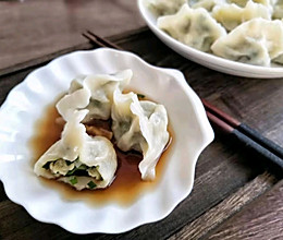 韭菜鸡蛋饺子(黄油版)的做法