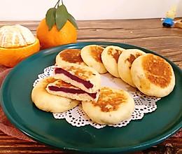 #餐桌上的春日限定#你怎么这么美&山药紫薯饼的做法