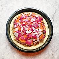 辣酱羊肉披萨#肉食者联盟#的做法图解12