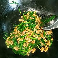 河虾炒韭菜的做法图解8