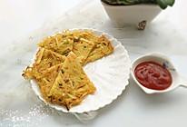 土豆丝煎饼#樱花味道#的做法