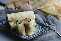 牛肉肠青菜卷饼的做法