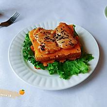 肉酱南瓜烤吐司