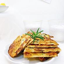 十分钟快手早餐-酥到掉渣的葱油饼