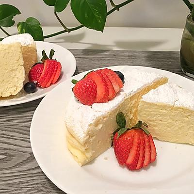 【轻乳酪蛋糕】无黄油低糖版