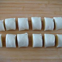 南瓜双色花卷的做法图解8