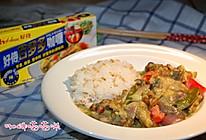 蔬菜咖喱牛腩饭#好侍百梦多咖喱#的做法