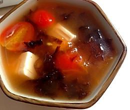 饱腹又美味的减肥汤-蕃茄豆腐汤的做法