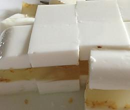 三层桂花椰汁糕的做法