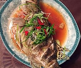 清蒸鳜鱼(最简单的宴会菜)的做法
