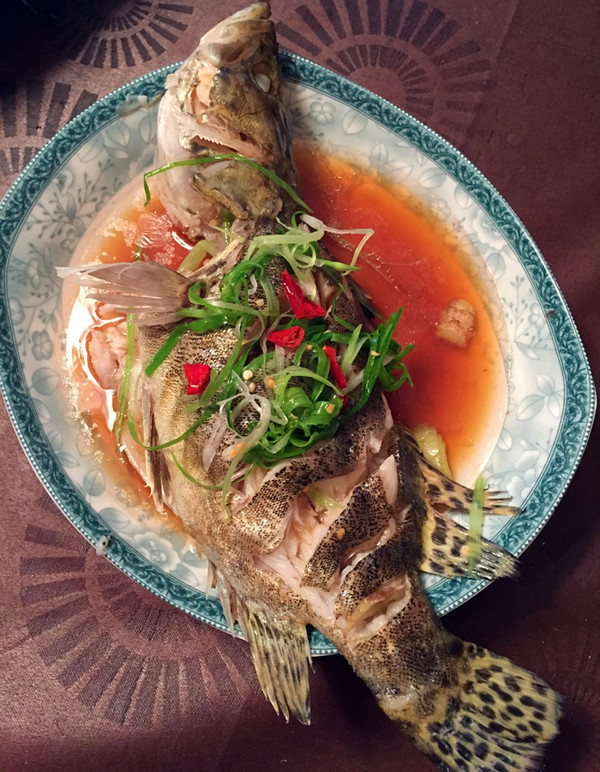 清蒸鳜鱼(最简单的宴会菜)